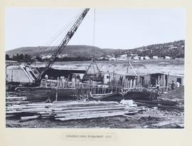 Construction of the Engineering workshop